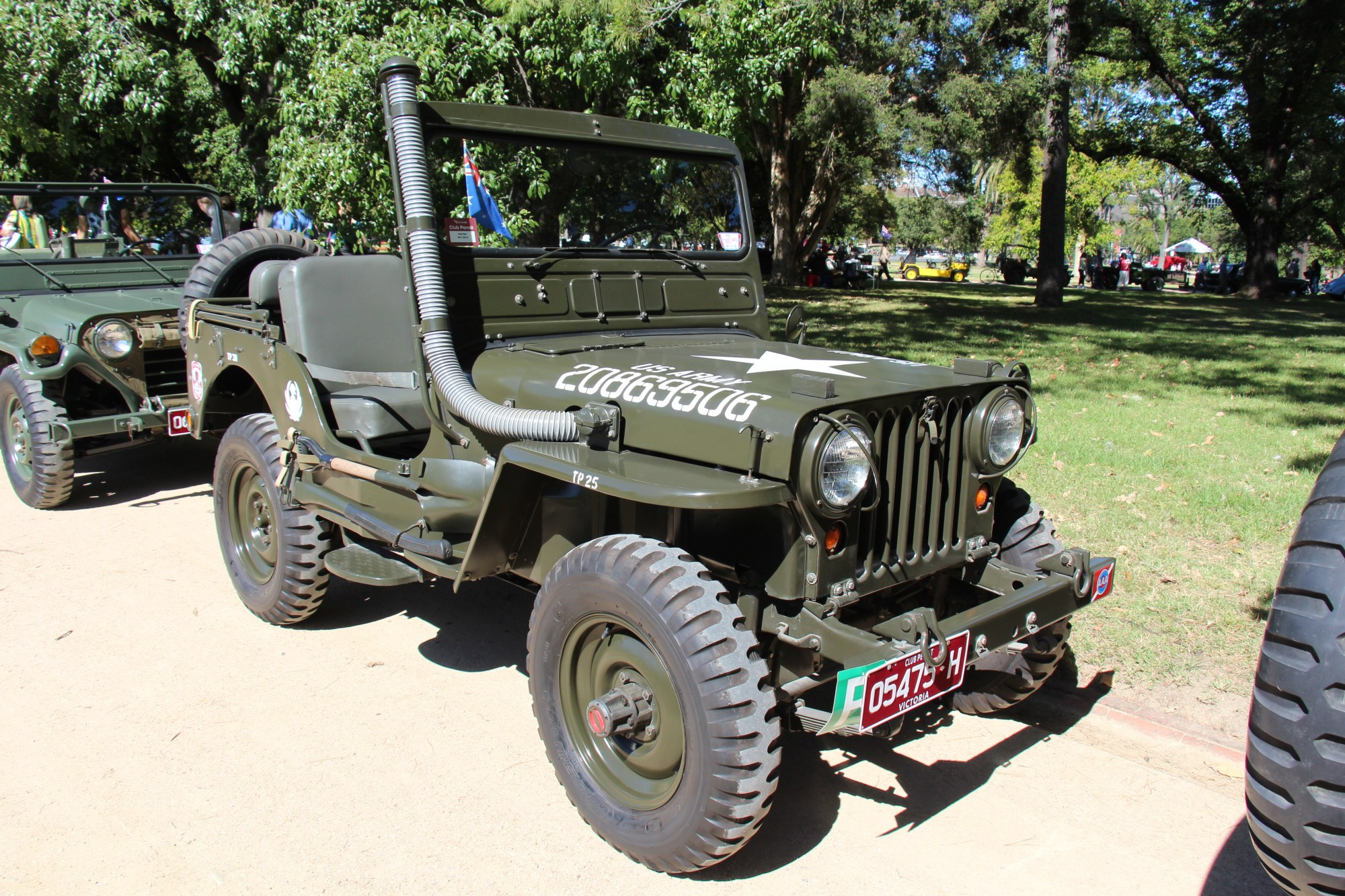 hight resolution of 1951 cj 3a military version