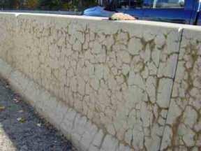ASR cracks concrete step barrier FHWA 2006