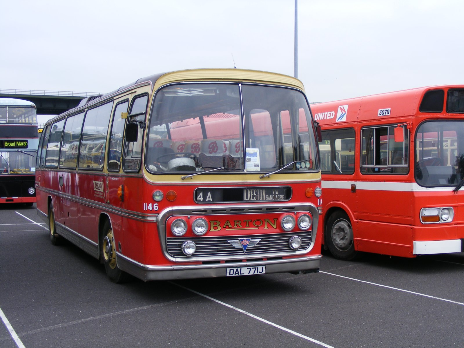 File Barton Coach Dal 771j Meadowhall Bus Rally