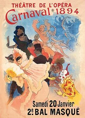 Cheret, Jules - Carnivale Poster