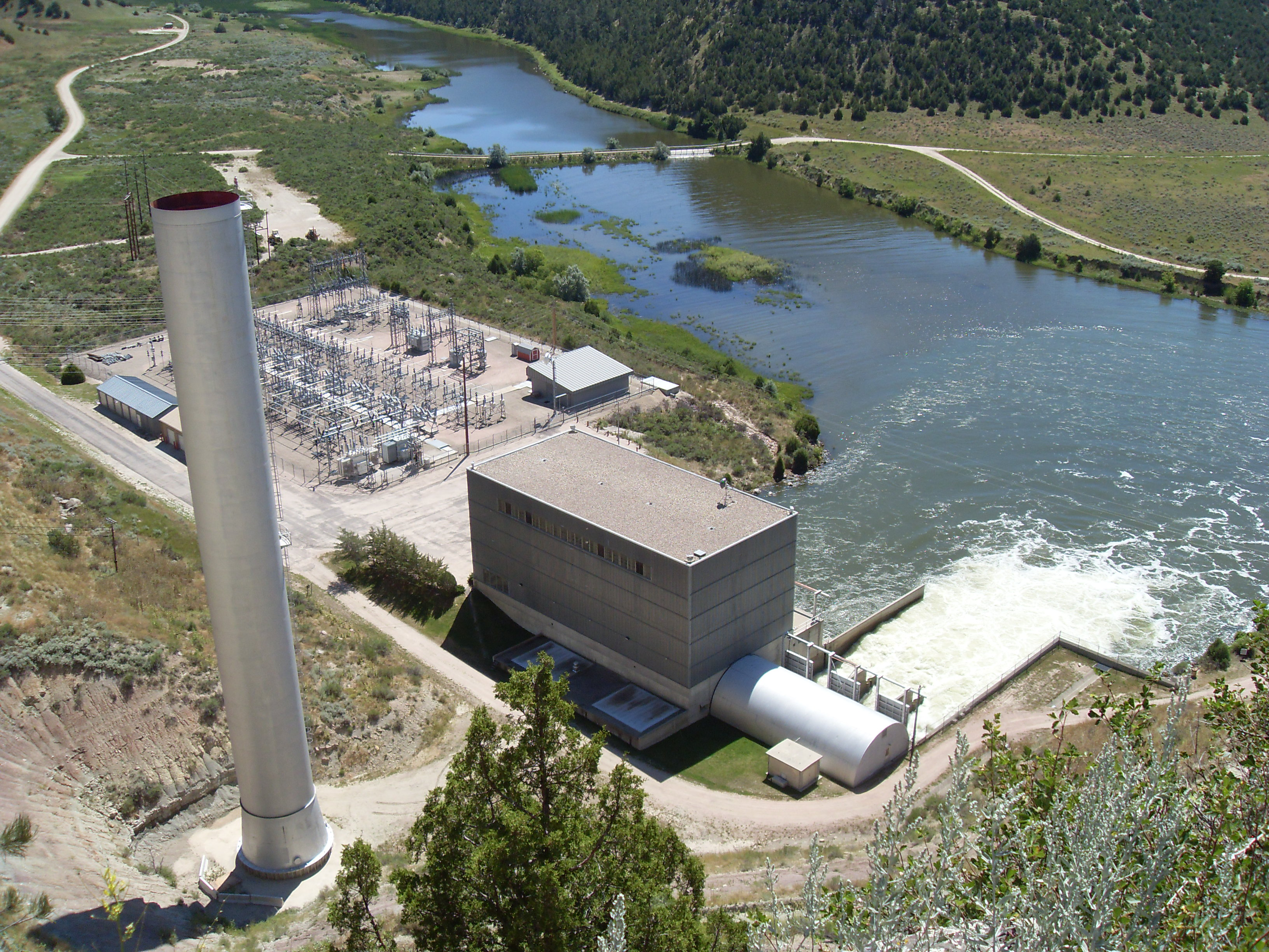 File Hydroelectric Power Plant Glendo Sp