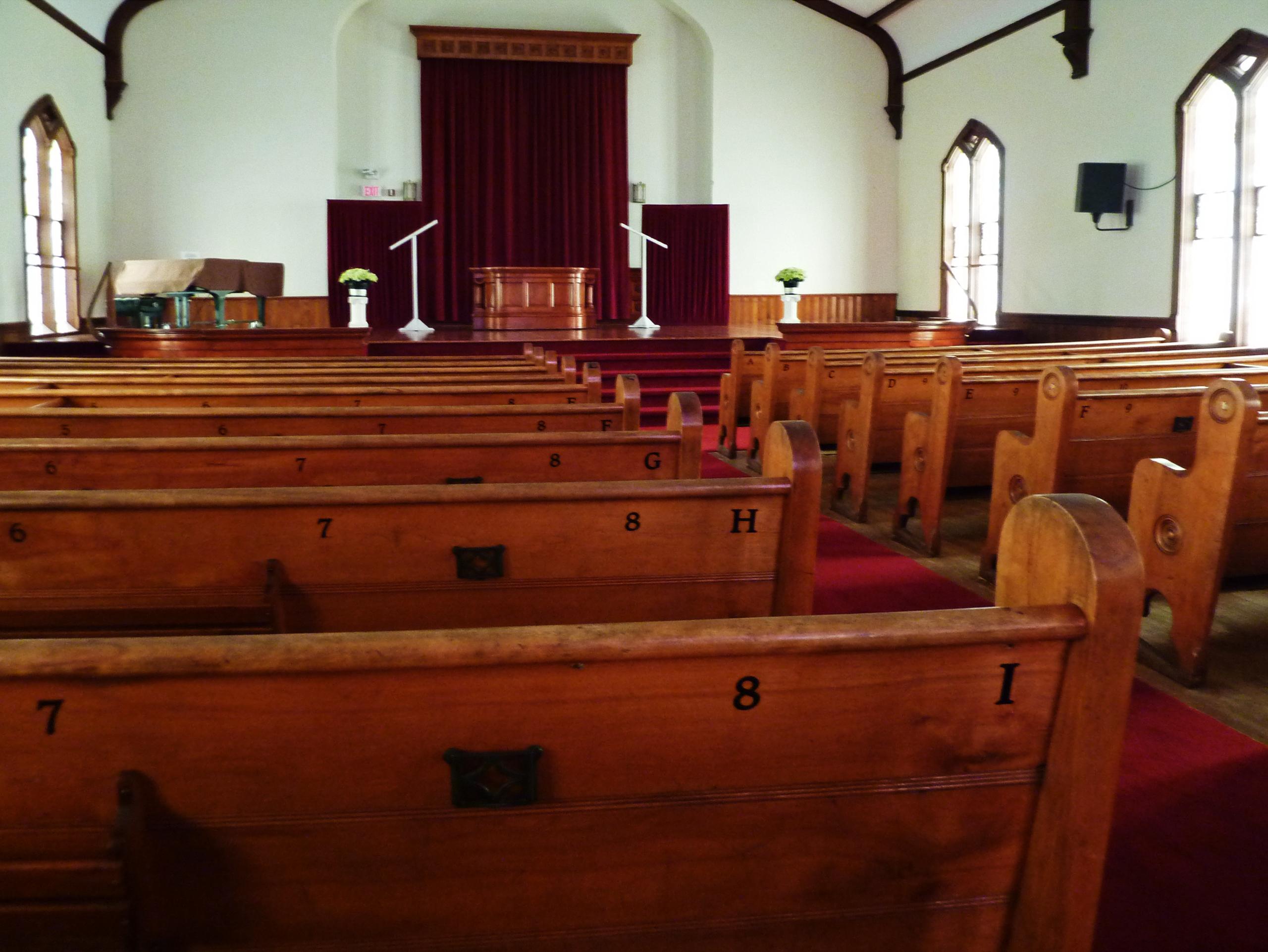 Filemonroe Methodist Church Pewsjpg  Wikimedia Commons