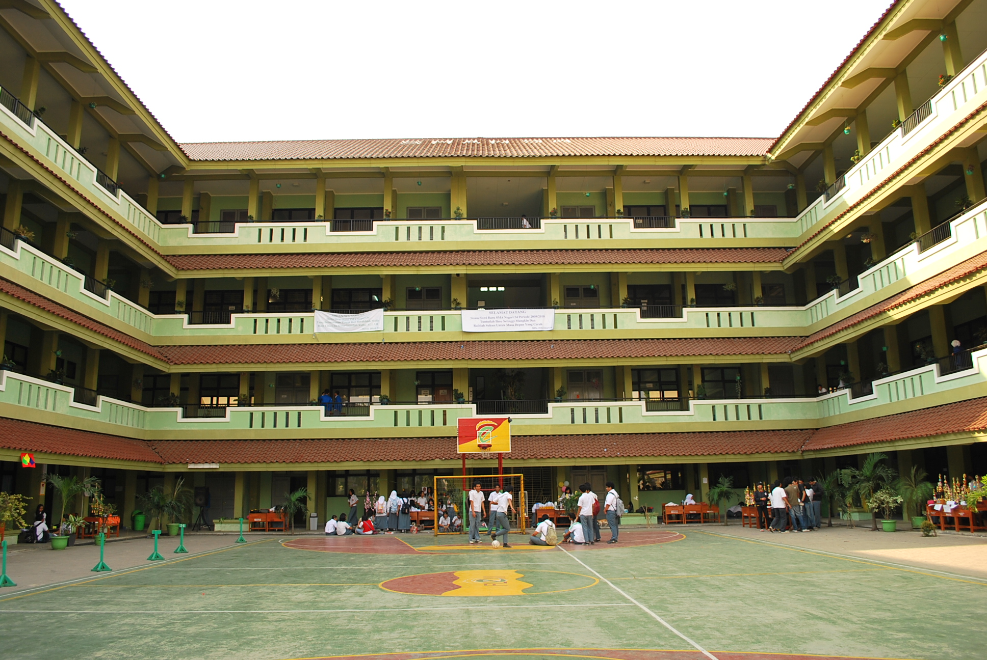 SMA Negeri 54 Jakarta  Wikipedia bahasa Indonesia