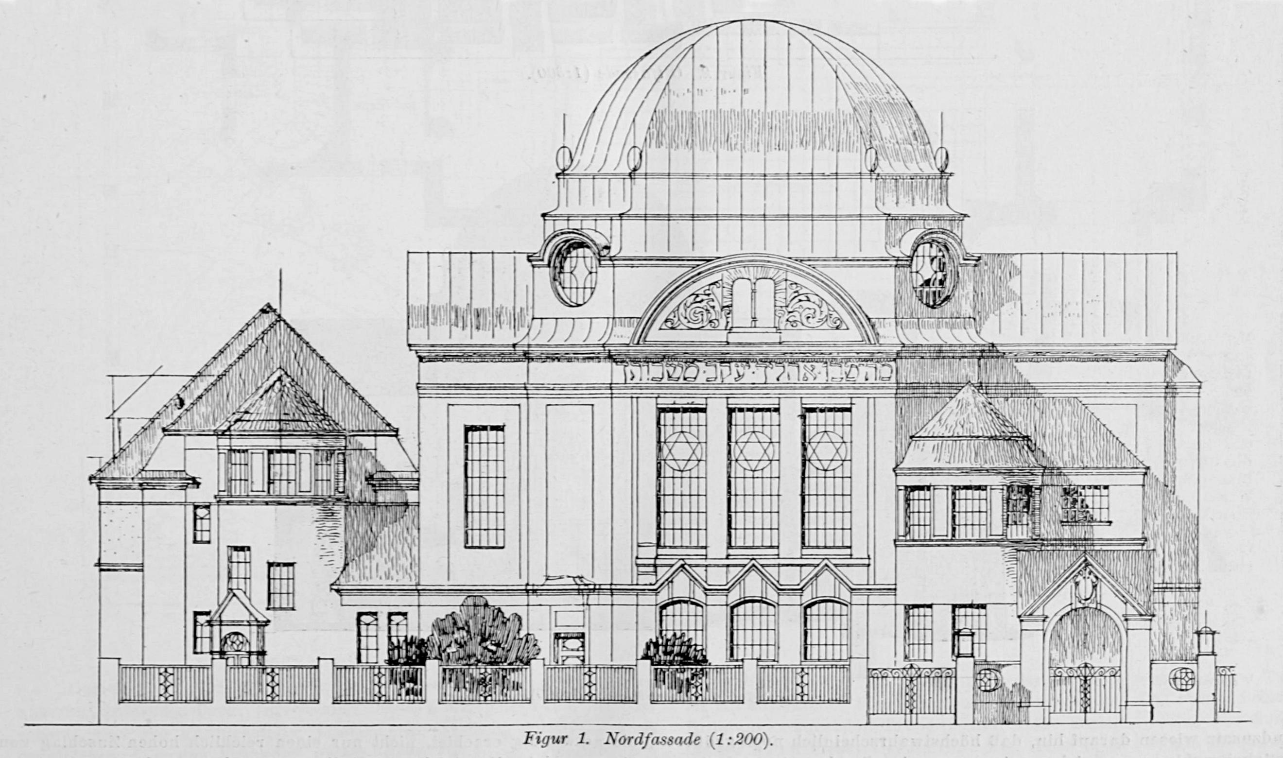 Datei:Synagogue St. Pölten, architectural drawing.jpg
