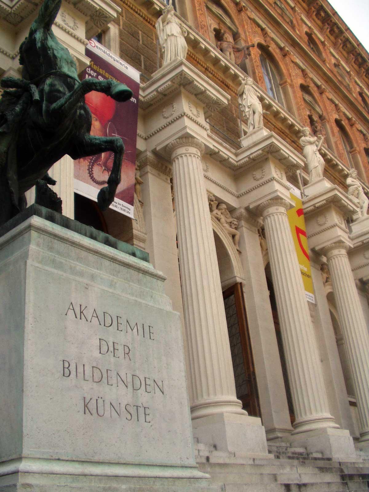 Akademie Der Bildenden Knste Wien Wikipedia Den Frie