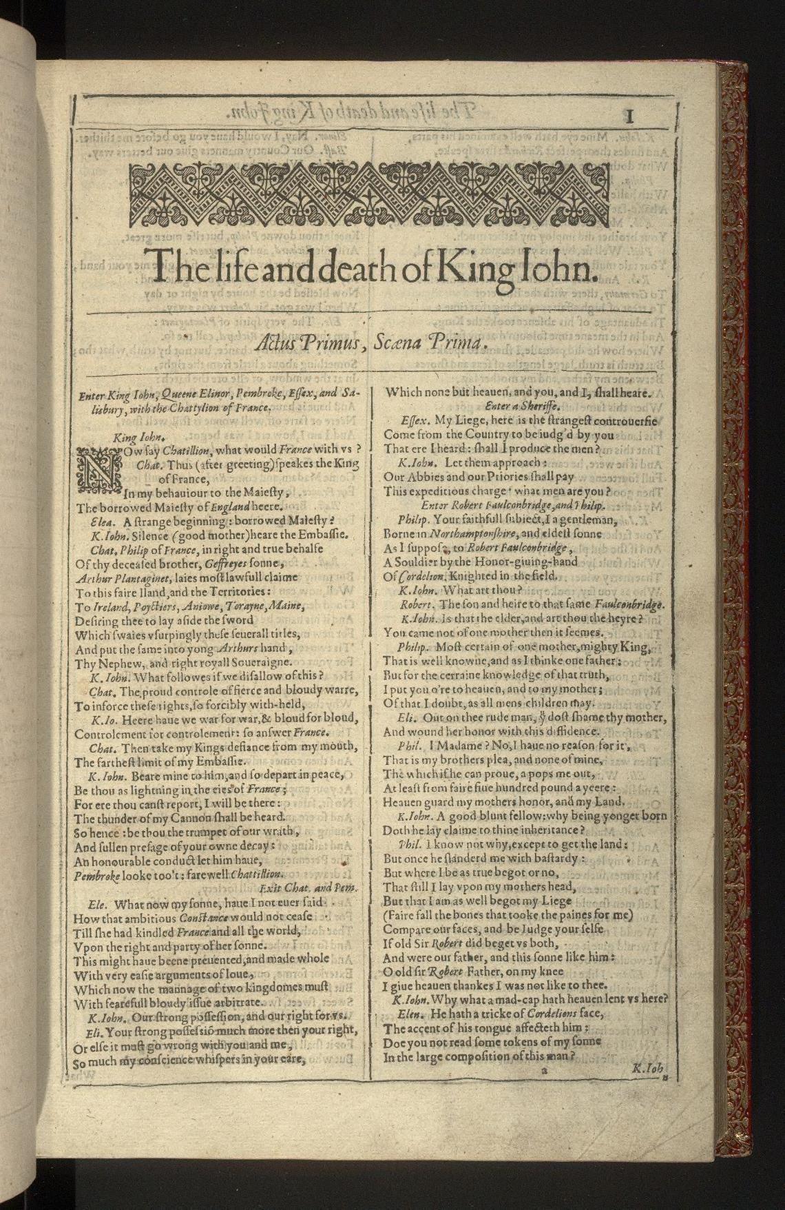 Shakespearean history  Wikipedia