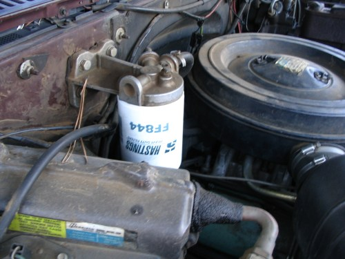 small resolution of diesel fuel filter canister base