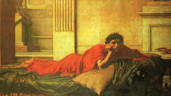 Ficheiro:John William Waterhouse - The Remorse of the Emperor Nero after the Murder of his Mother.JPG