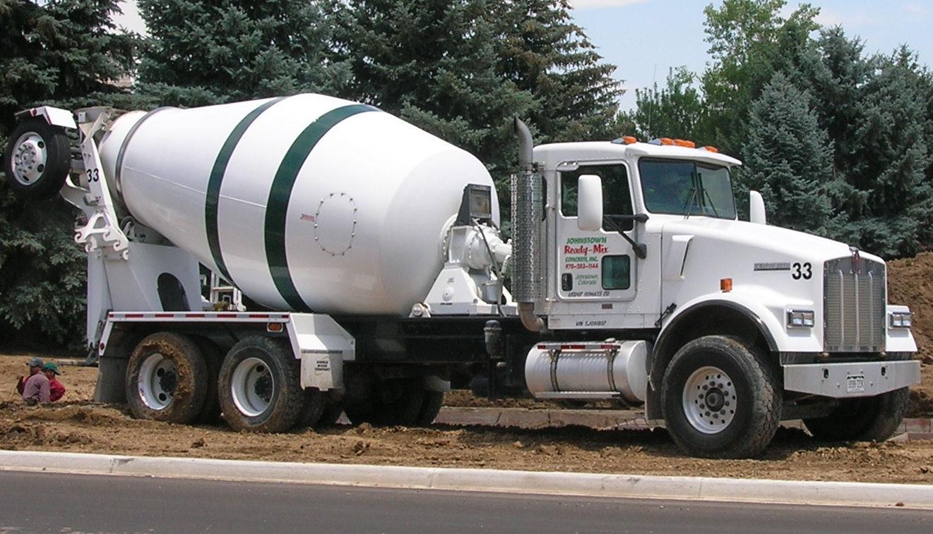 file kenworth w900s concrete