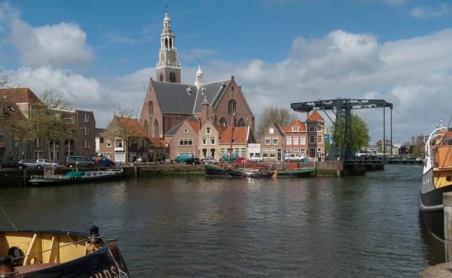 File Maassluis De Groote Kerk Vanaf De Haven Rm26609
