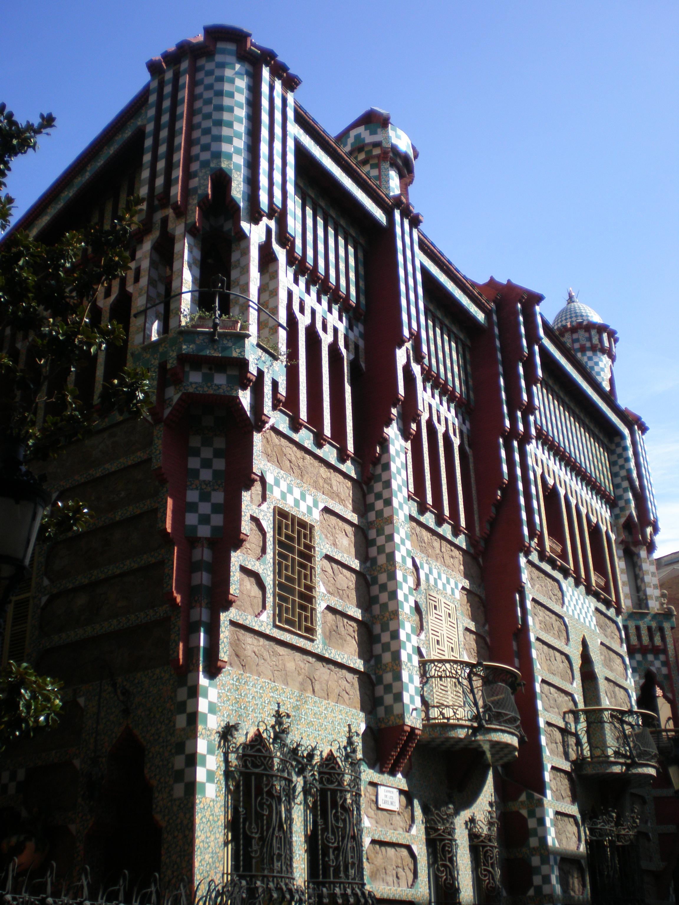 FileCasa Vicens Barcelona  5jpg  Wikimedia Commons
