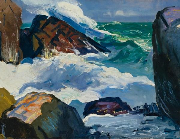 Artist George Bellows Paintings
