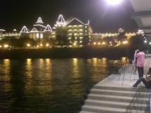 File Hk Disneyland Resort Pier Night Public View