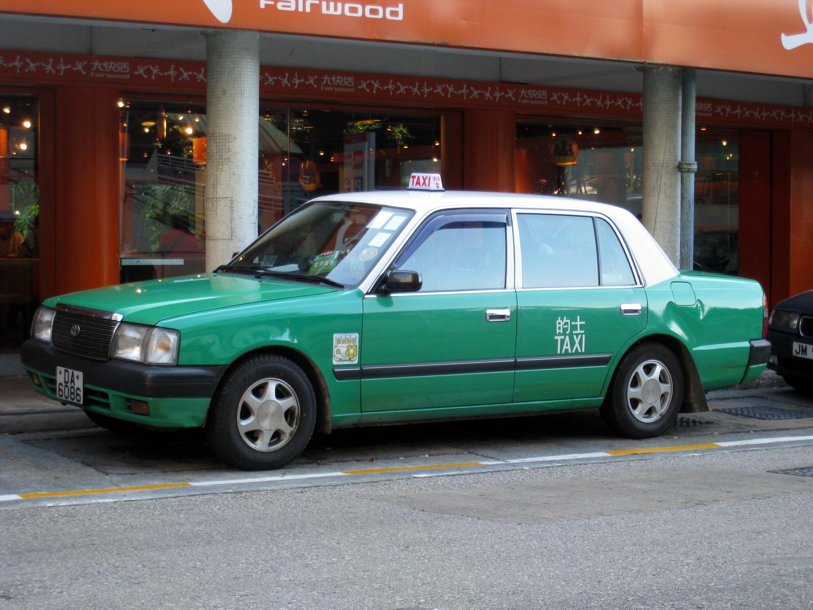 File:HK Toyota Comfort Green Taxi.jpg - Wikimedia Commons