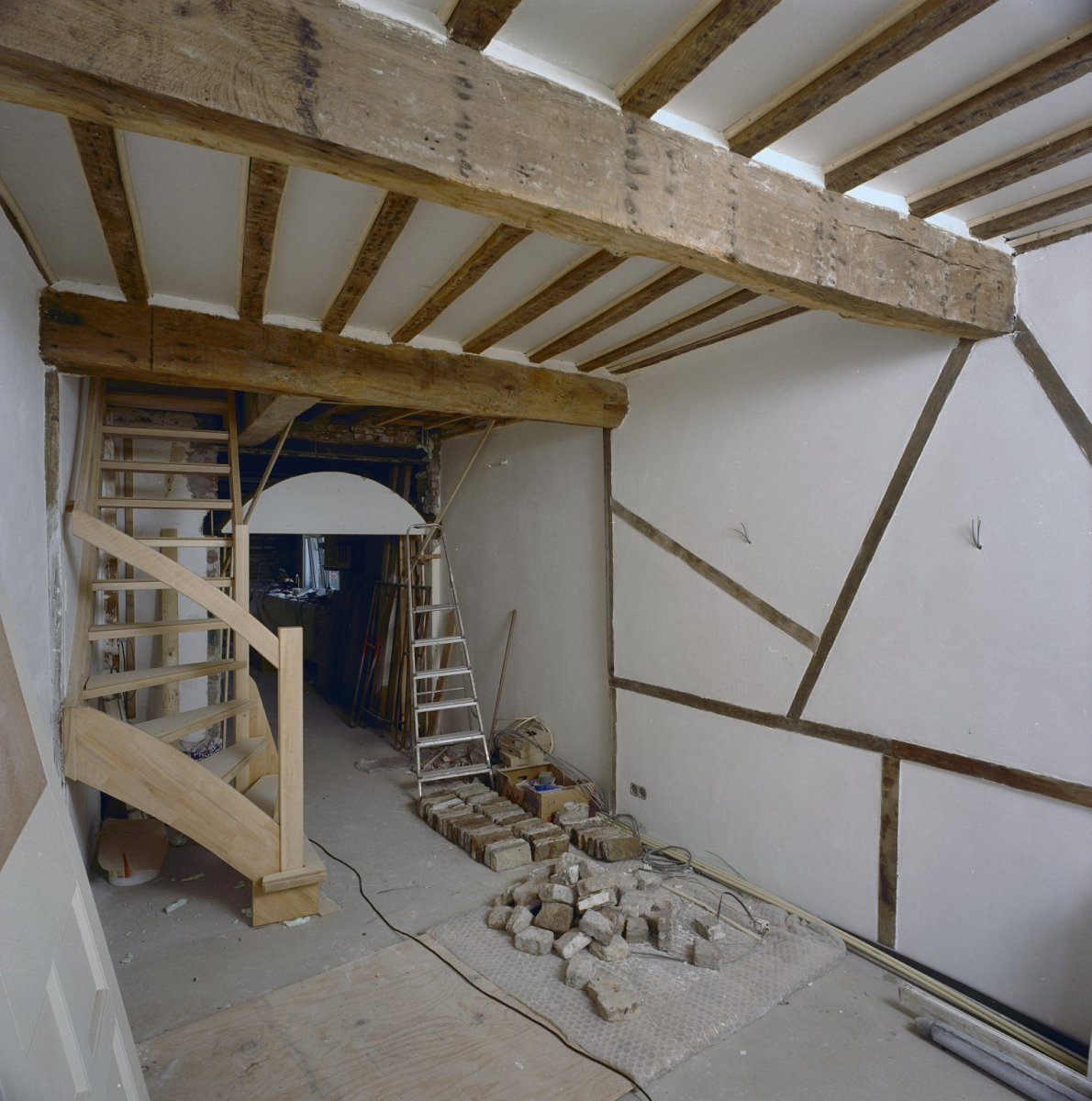 Interieur Woonkamer Open Haard