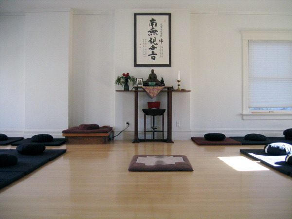Kanzeon Zen Center Zendo (