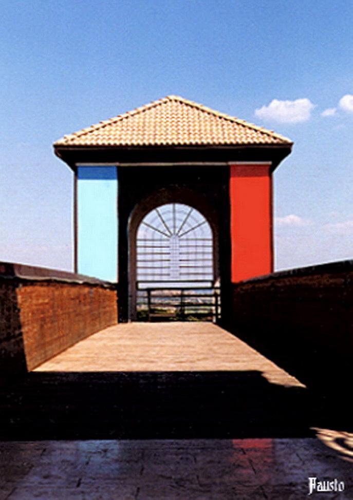 """Italiano: Particolare del Ponte sul """"Parc..."""