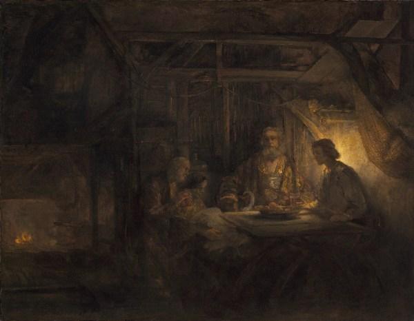 File Rembrandt Van Rijn - Philemon And Baucis National