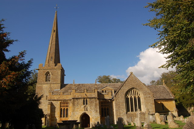 St Michael and All Angels parish church, Stanton, Gloucestershire