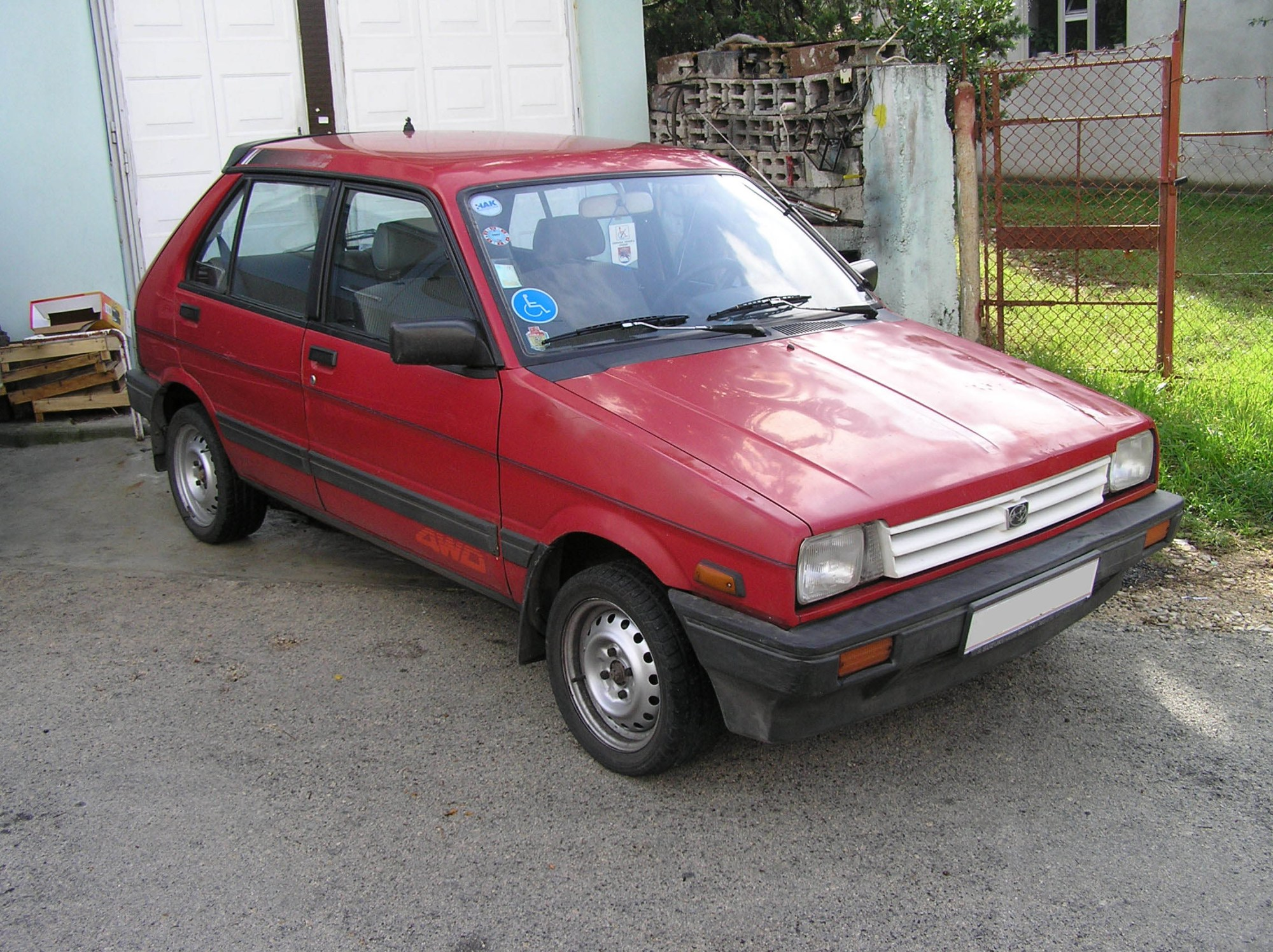 hight resolution of subaru justy
