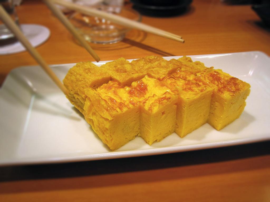 Tamagoyaki Tortilla japonesa