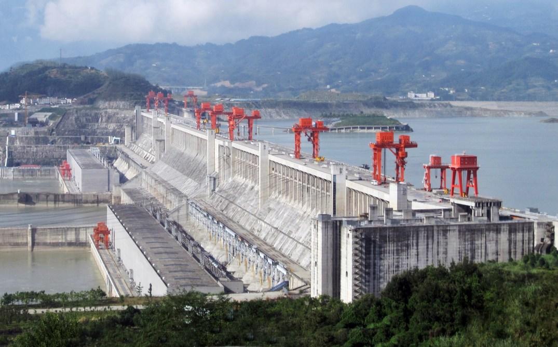 Usina Hidrelétrica Três Gargantas China