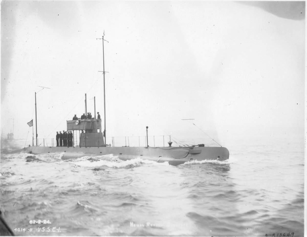 United States Eclass submarine  Wikipedia