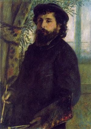 Portrait of the painter Claude Monet