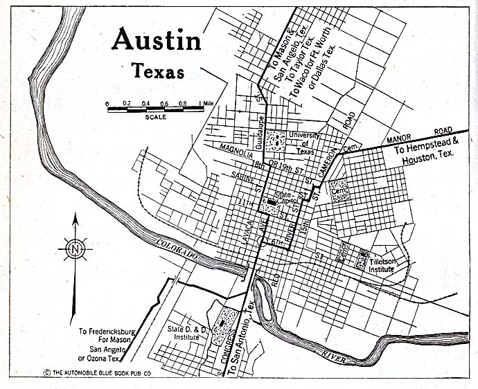 1000+ images about Austin, Texas maps: historical on