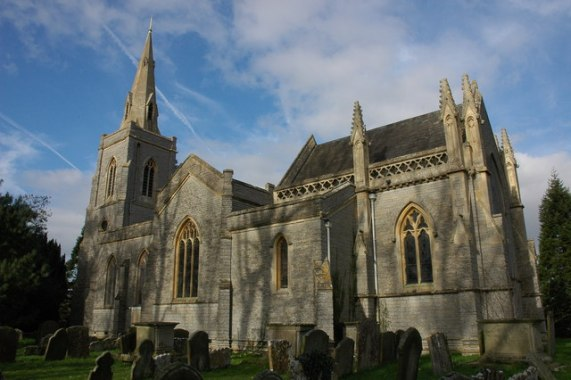 St Peter's parish church, Bushley, Worcestershire