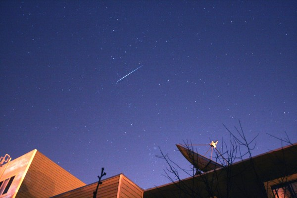 Iridium Satellite Flare