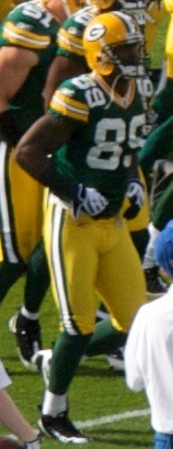 English: James Jones of the Green Bay Packers ...