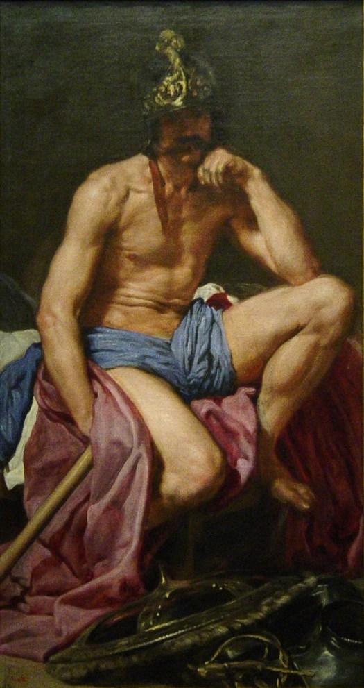 Marte, óleo de Diego Velázquez