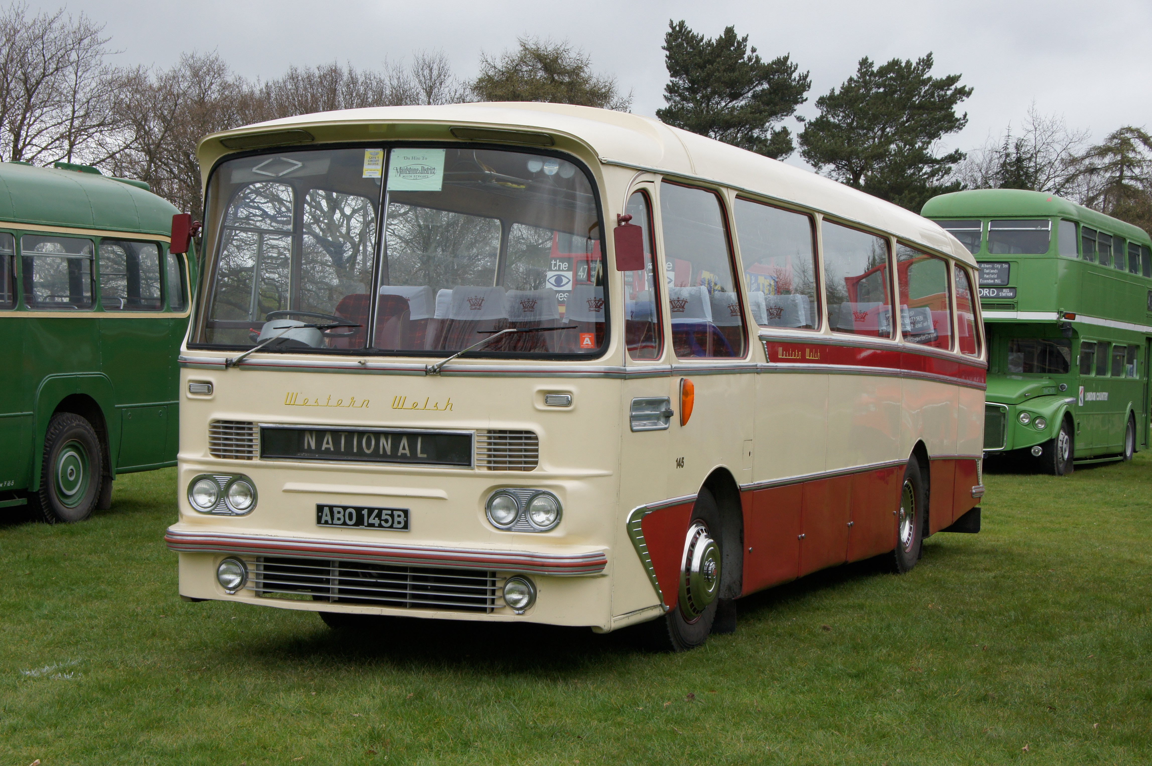 File Western Welsh Coach 145 Abo 145b M Amp D And Ek 60