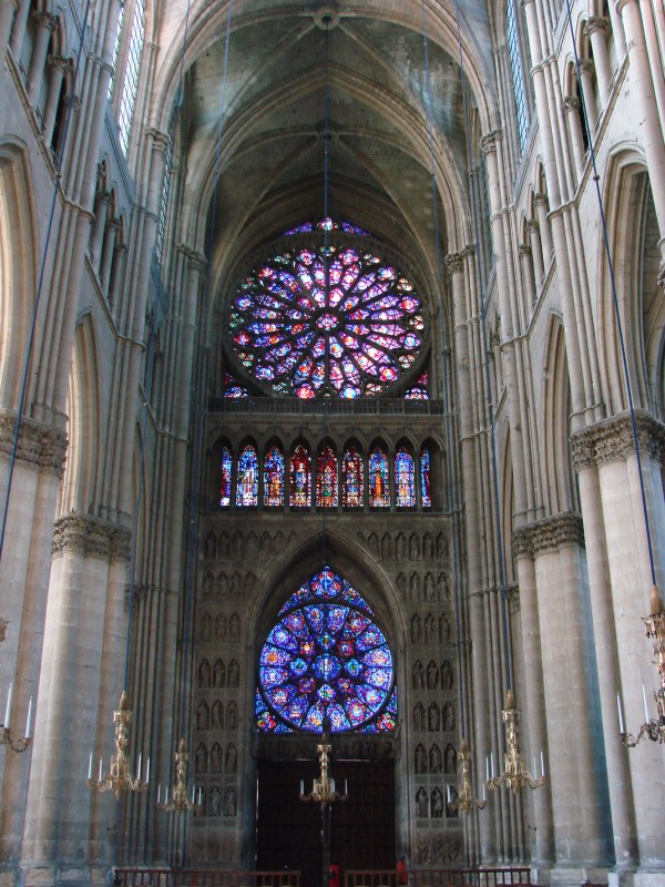 Architecture Gothic Reims Cathedral