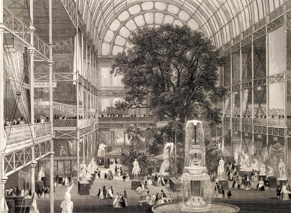 File Steel Engraving; Crystal Palace 1851 Exhibition