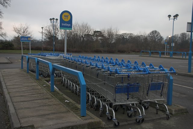 Trolley Holiday - geograph.org.uk - 298467