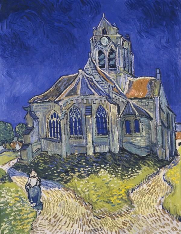 File Vincent Van Gogh - Church In Auvers-sur-oise View Chevet Google Art Project