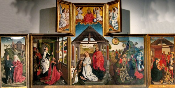 File Workshop Of Rogier Van Der Weyden - Polyptych With