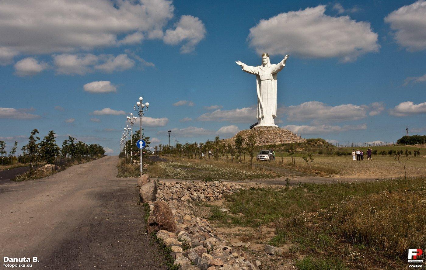 Filewiebodzin Pomnik Chrystusa Krla Fotopolskaeu