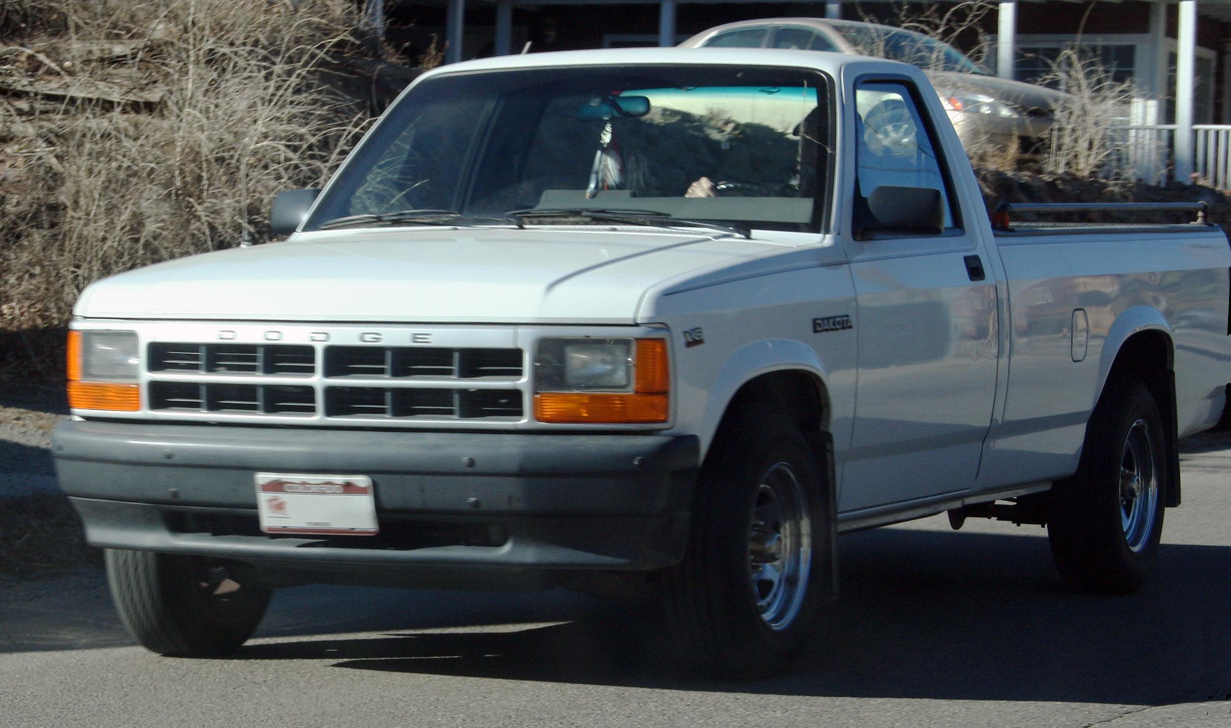 1988 Dodge Dakota Under