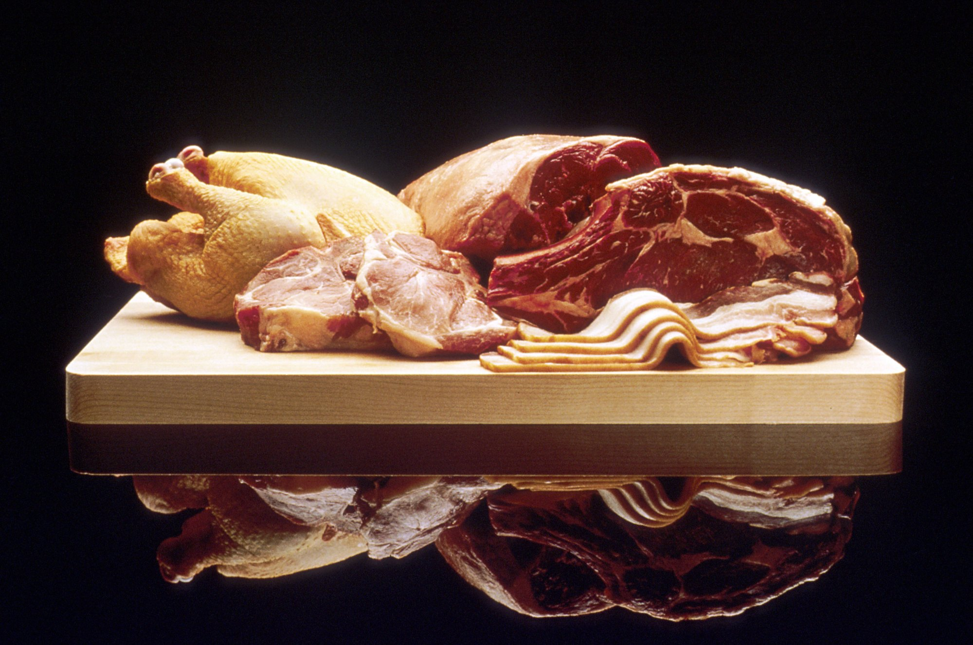 hight resolution of offal meat cut diagram