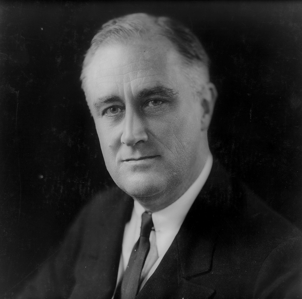 President Franklin D. Roosevelt faced strong o...