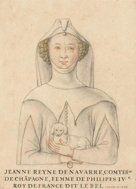 Roi Philippe Et Reine Jeanne : philippe, reine, jeanne, Jeanne, Navarre, Wikipédia