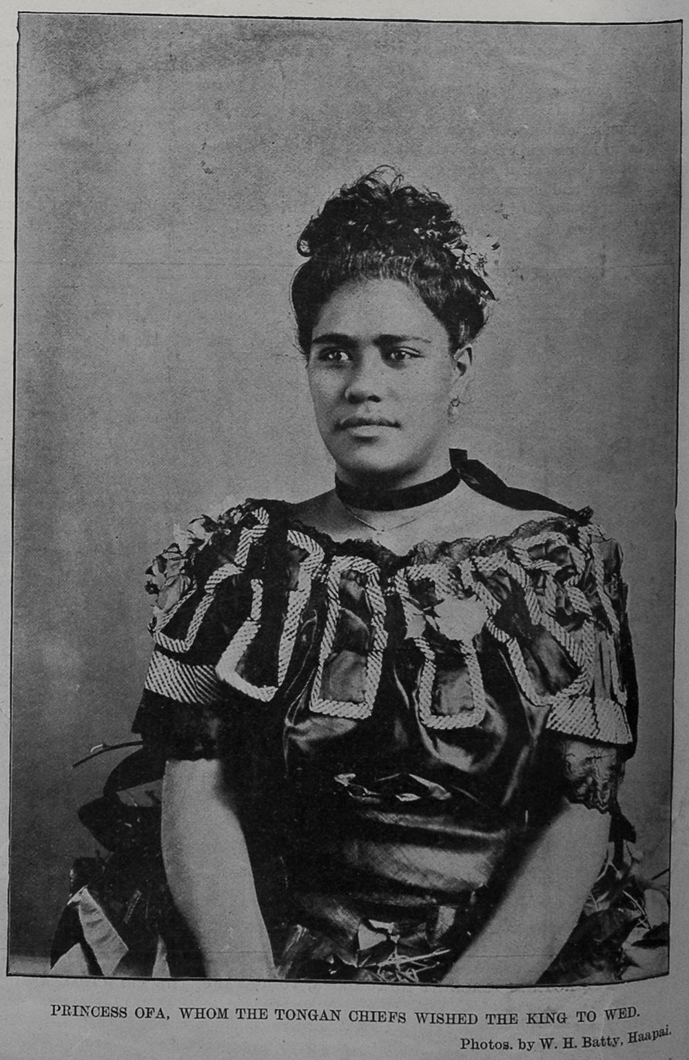 FilePrincess Ofa whom the Tongan chiefs wished the king
