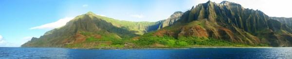 Hawaii Na Pali Coast In