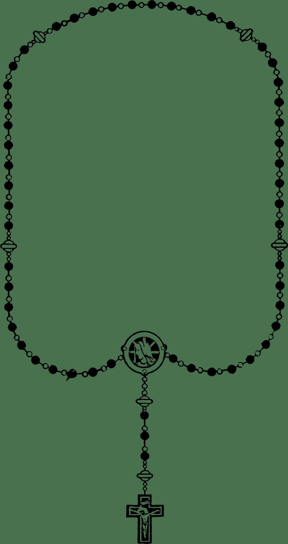 File Rosary Black