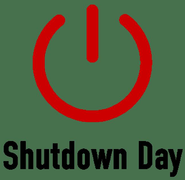 shutdown day wikipedia