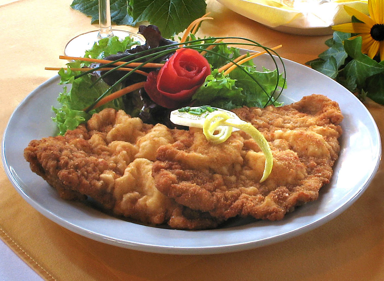 Image result for wiener schnitzel german