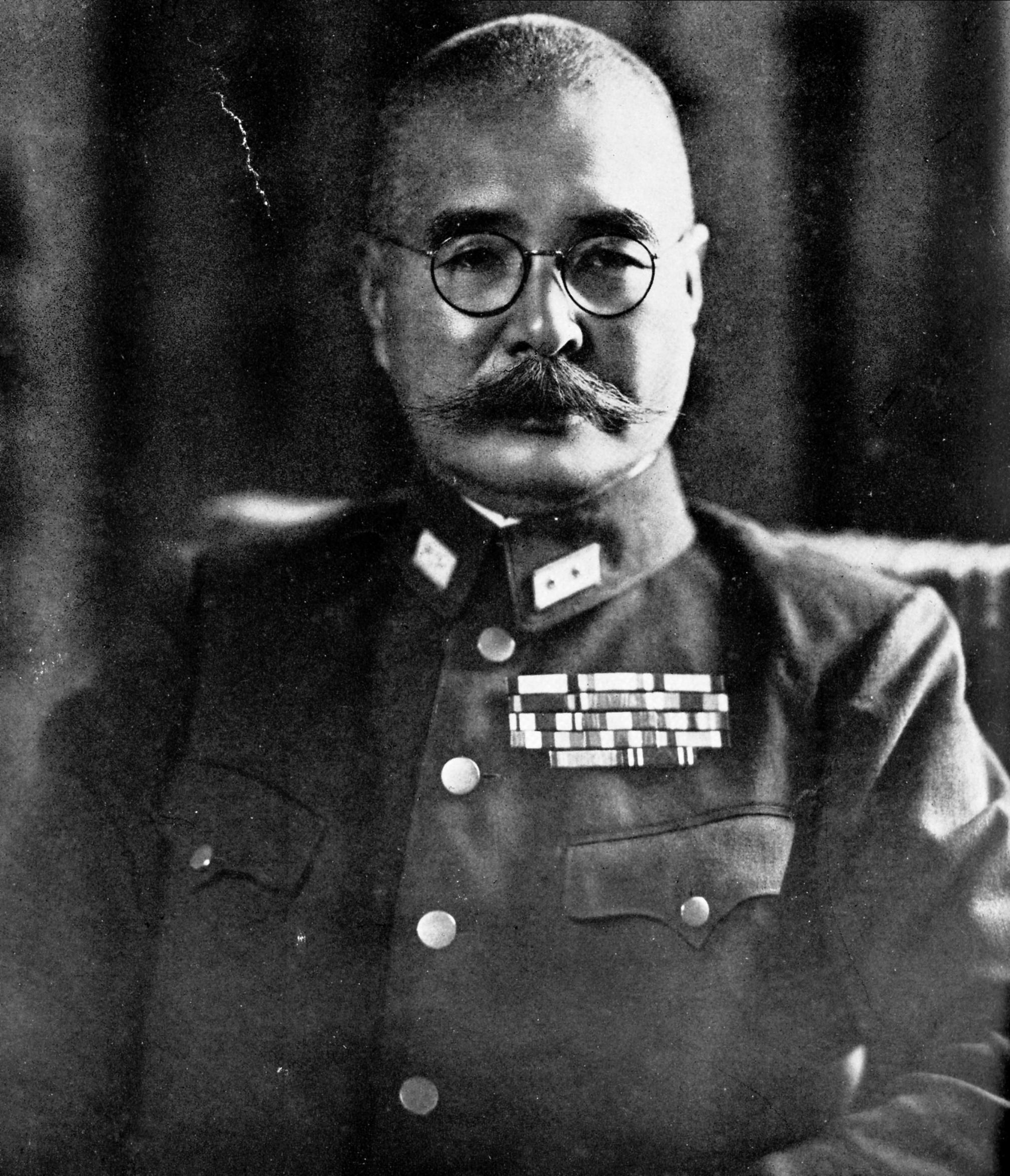 台灣台北第十方面軍司令官安藤利吉將軍